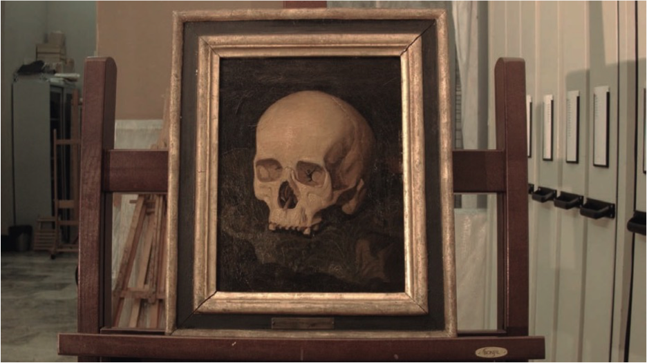 Goya's skull